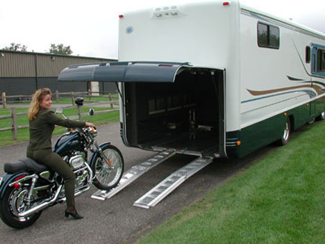 Motorcycle Rack For Rv